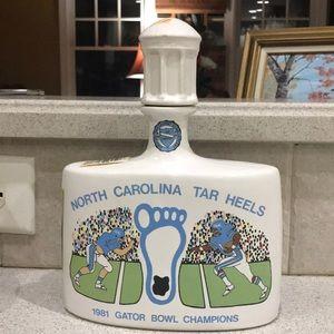 UNC NC Tar Heels 1981 Gator Bowl/1982 NCAA Camps